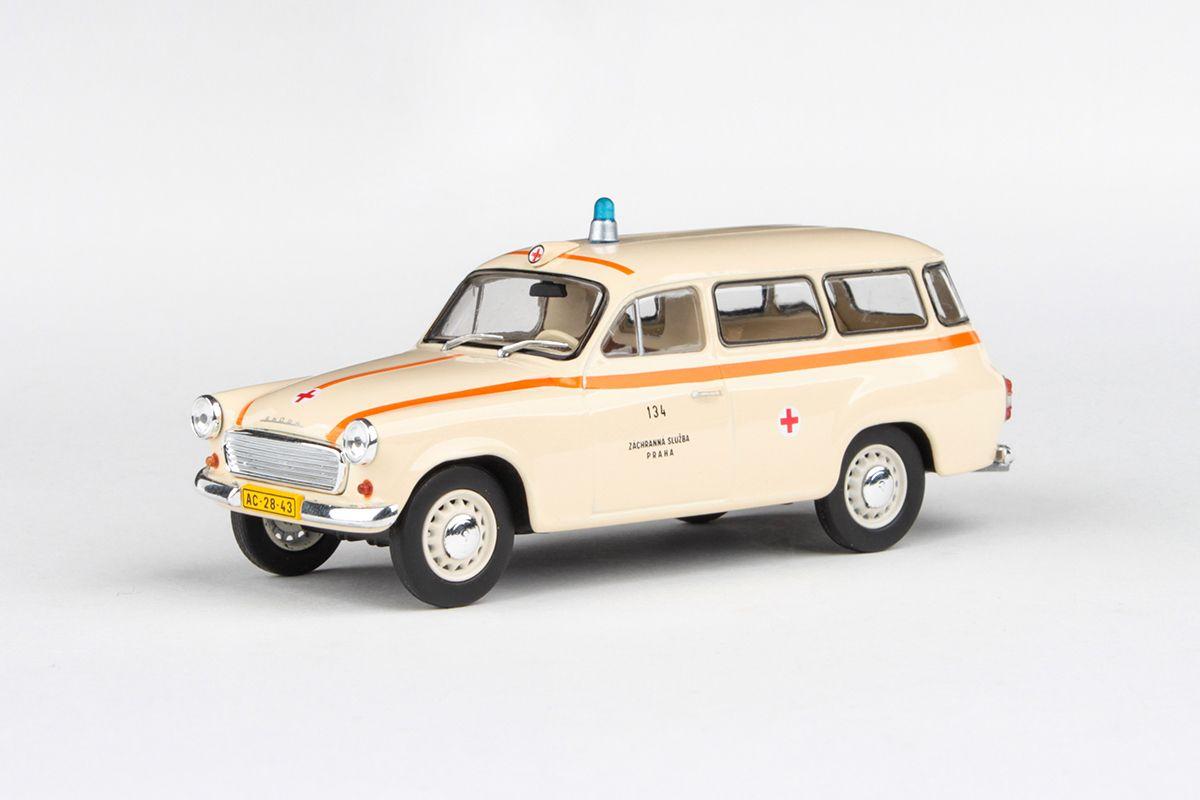 Škoda 1202 (1964) 1:43 - Sanitka - ZS Praha 134