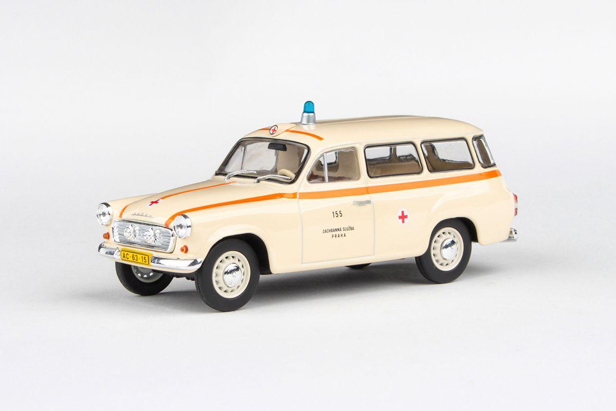 Škoda 1202 (1964) 1:43 - Sanitka - ZS Praha 155
