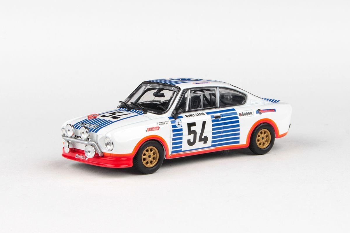 Škoda 130RS (1977) 1:43 - Rallye Monte-Carlo 1977 #54 Kvaizar - Kotek