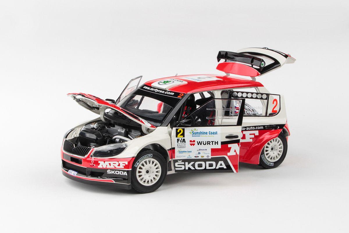 Škoda Fabia II FL S2000 (2010) 1:18 - International Rally of Queensland 2014 #2 Kopecký - Dresler