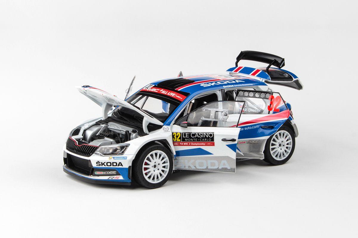 Škoda Fabia III R5 (2015) 1:18 - Rallye Monte-Carlo 2018 #32 Kopecký - Dresler
