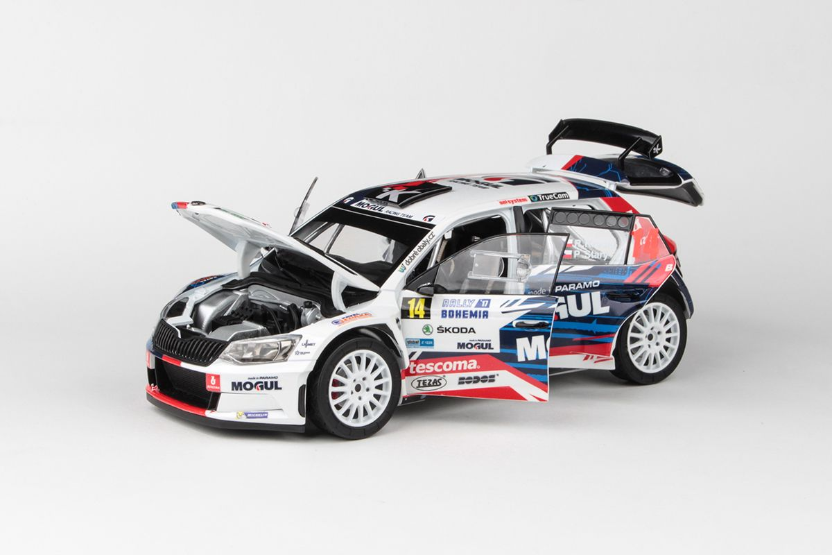 Škoda Fabia III R5 (2015) 1:18 - Rally Bohemia 2017 #14 Kresta - Starý