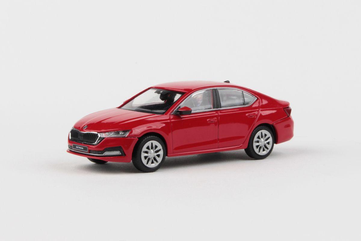 Škoda Octavia IV (2020) 1:43 - Červená Corrida Uni