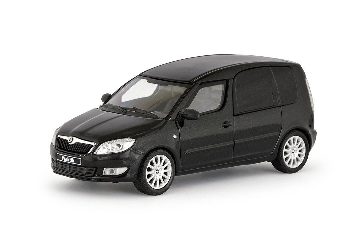 Škoda Roomster FL Praktik (2010) 1:43 - Černá Magic Metalíza