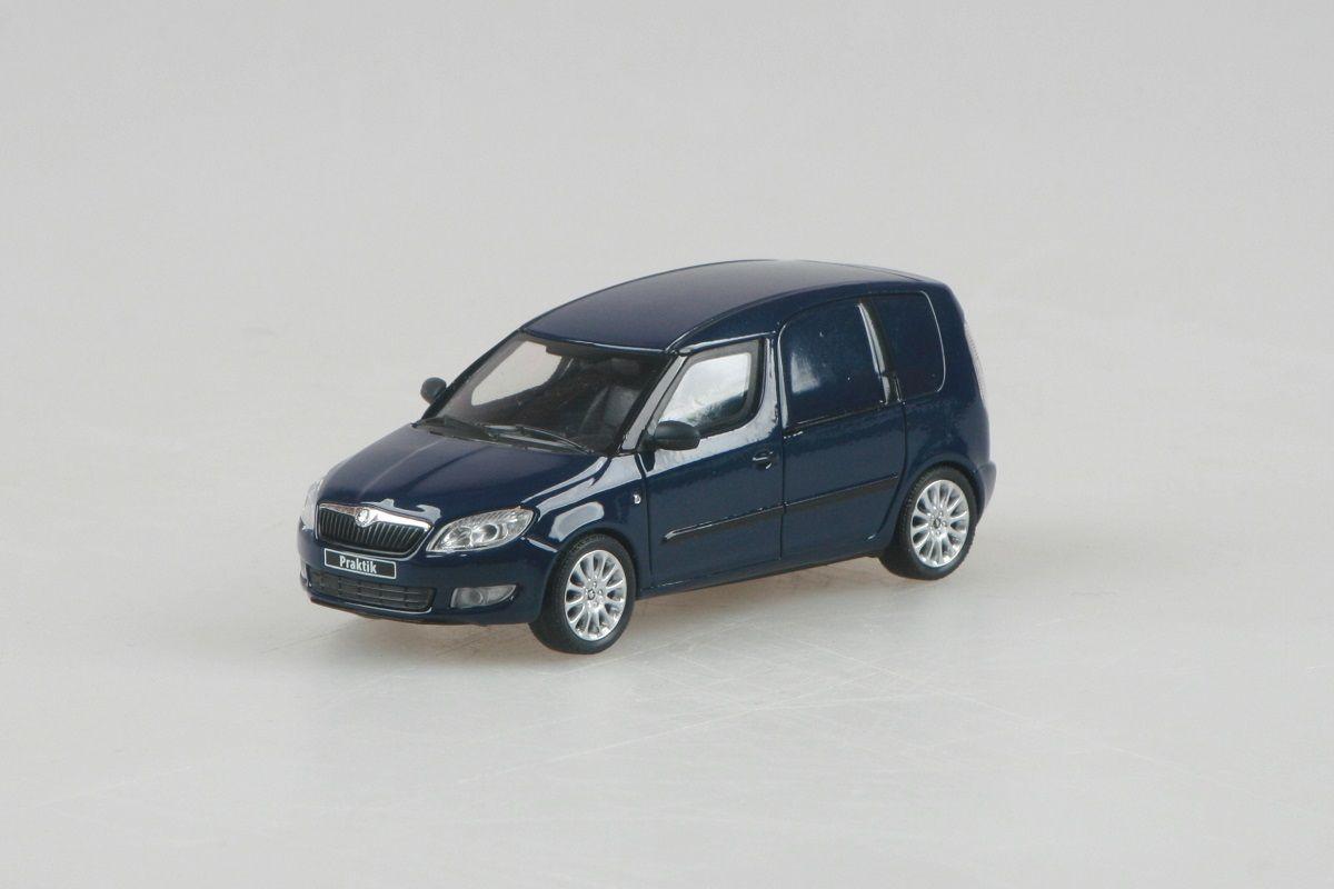 Škoda Roomster FL Praktik (2010) 1:43 - Modrá Pacific Uni