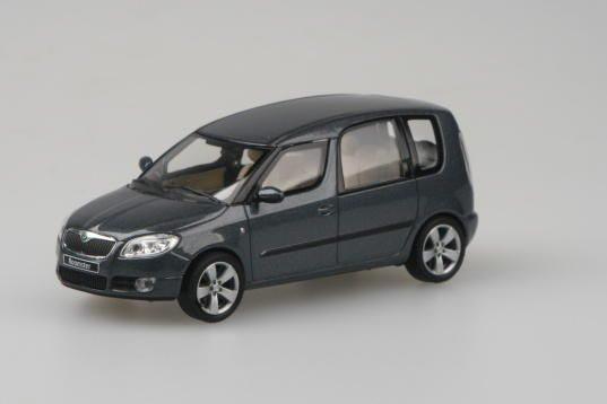 Škoda Roomster (2006) 1:43 - Šedá Anthracite Metalíza