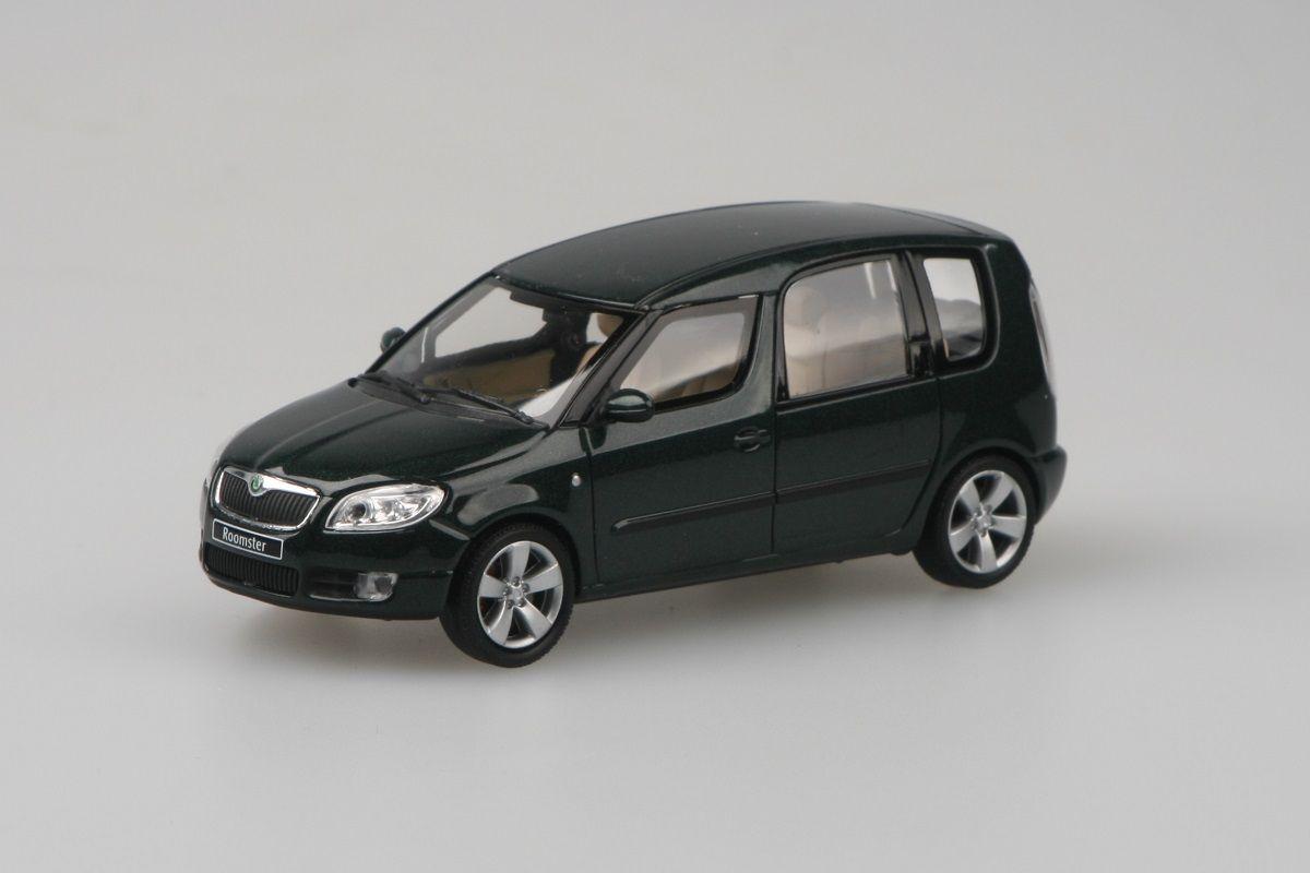 Škoda Roomster (2006) 1:43 - Zelená Highland Metalíza