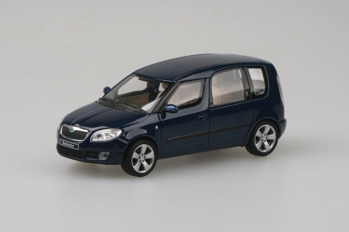 Škoda Roomster (2006) 1:43 - Modrá Storm Metalíza