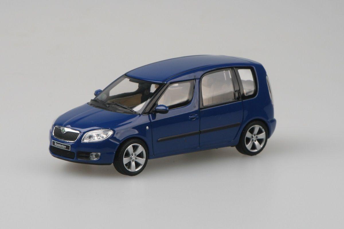 Škoda Roomster (2006) 1:43 - Modrá Dynamic Uni