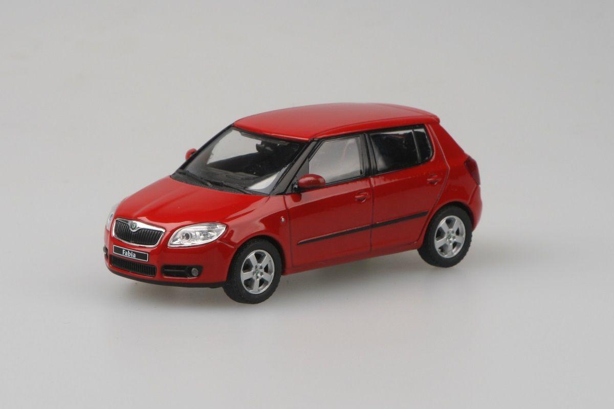 Škoda Fabia II (2006) 1:43 - Červená Corrida Uni