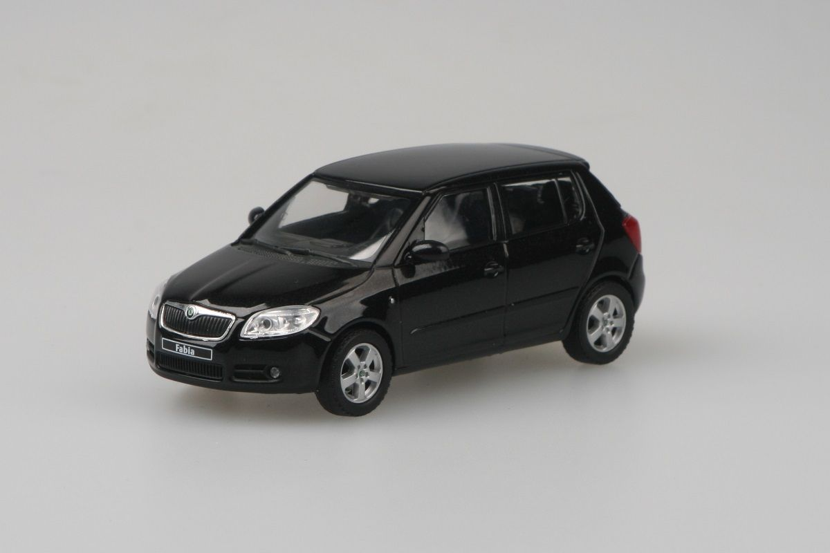 Škoda Fabia II (2006) 1:43 - Černá Magic Metalíza