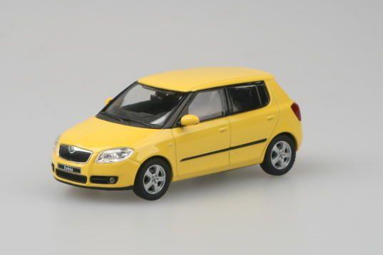 Škoda Fabia II (2006) 1:43 - Žlutá sprint