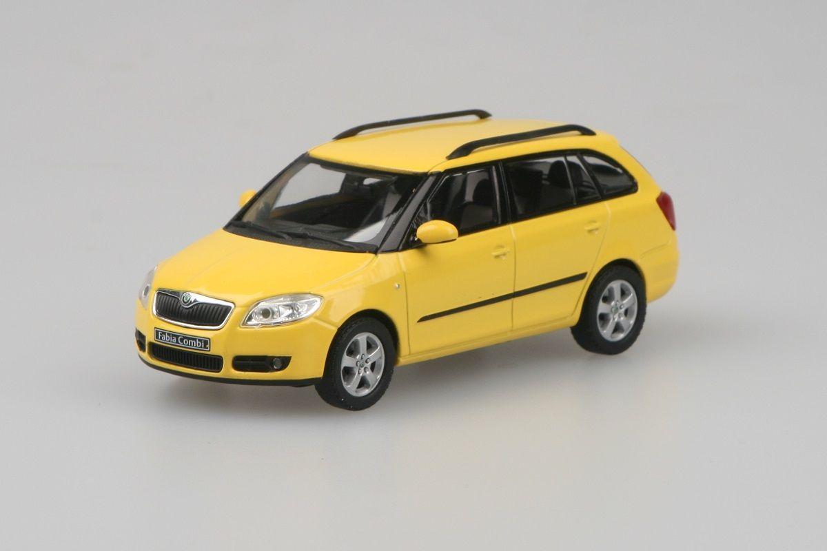 Škoda Fabia II Combi (2007) 1:43 - Žlutá sprint