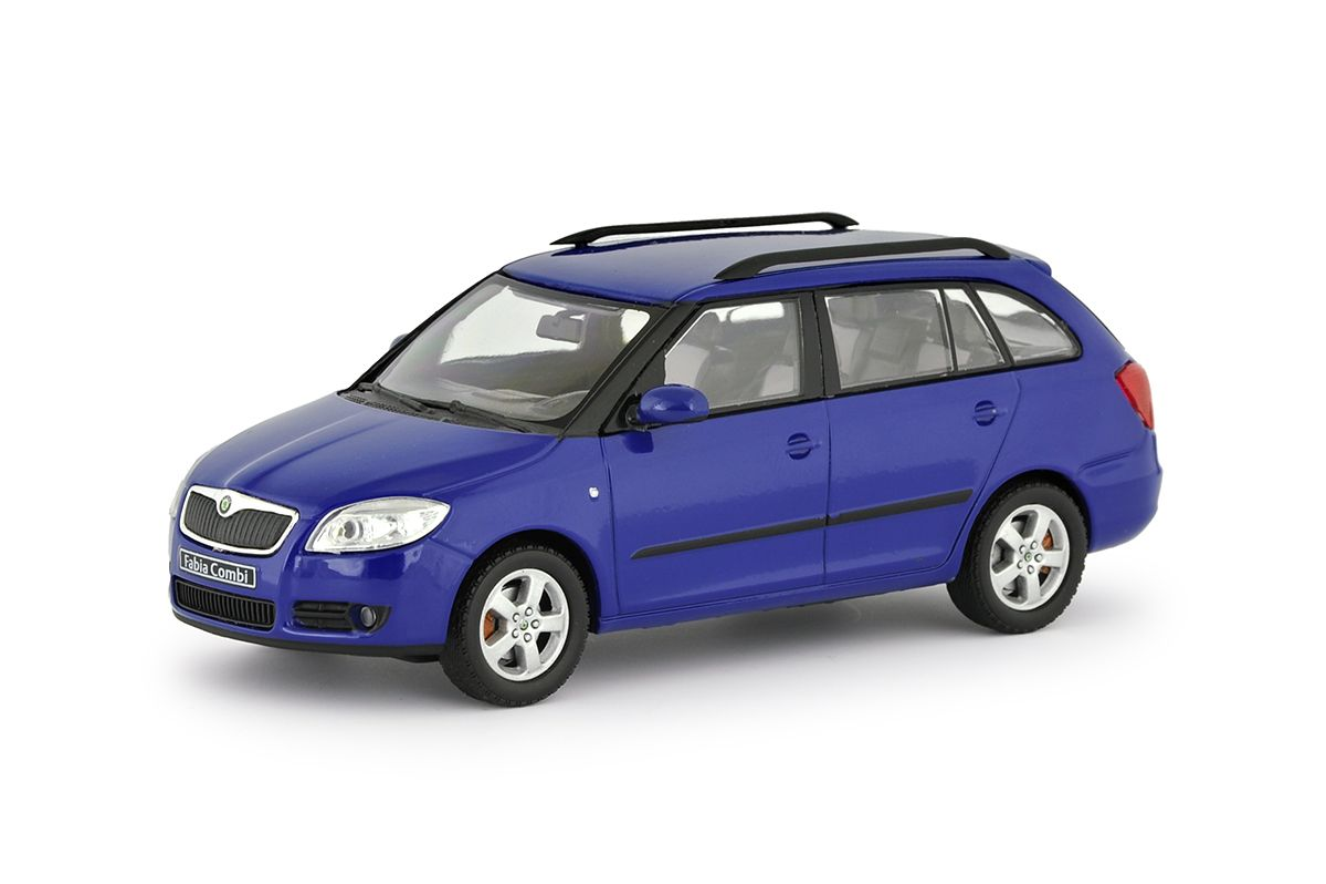 Škoda Fabia II Combi (2007) 1:43 - Modrá Dynamic Uni