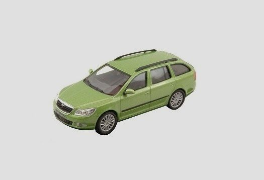 Škoda Octavia II FL Combi (2008) 1:43 - Zelená Spring Metalíza