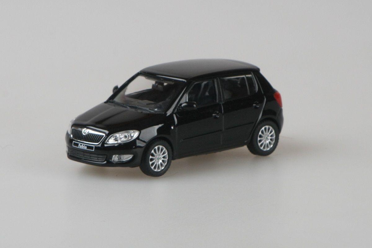 Škoda Fabia II FL (2010) 1:43 - Černá Magic Metalíza