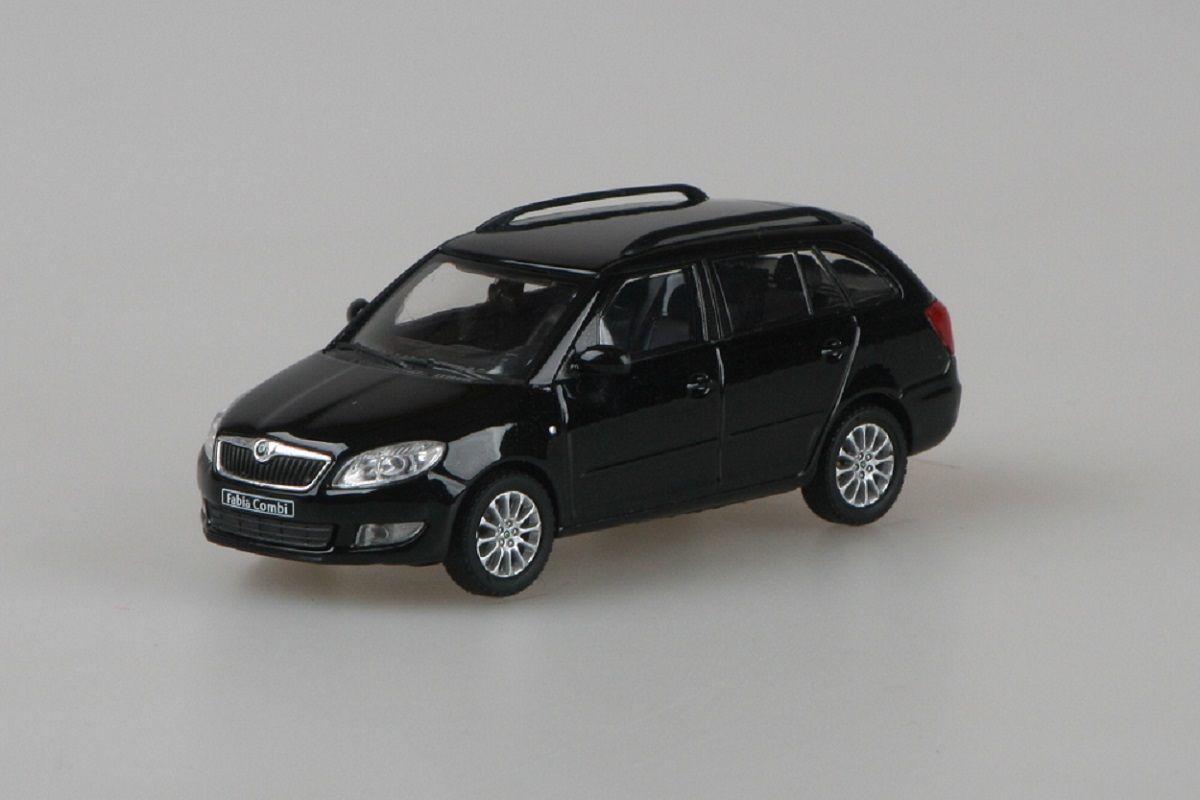 Škoda Fabia II FL Combi (2010) 1:43 - Černá Magic Metalíza
