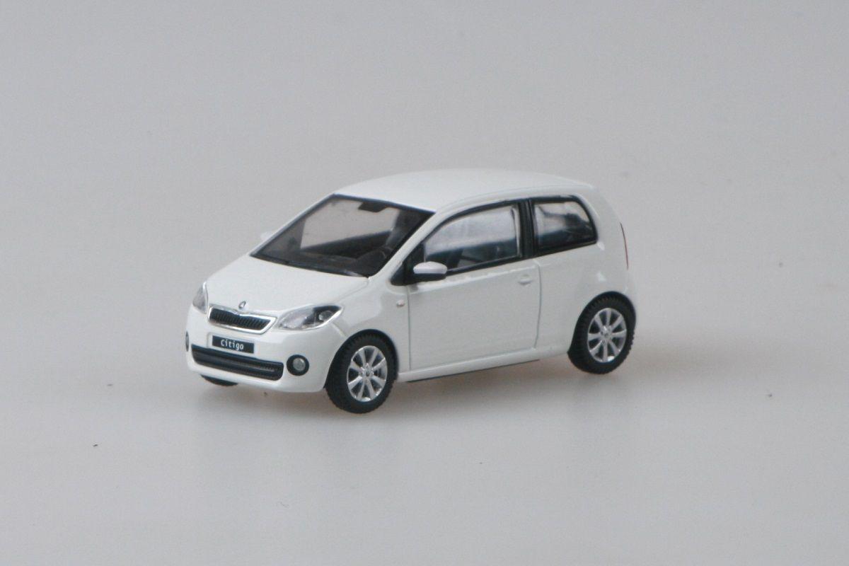 Škoda Citigo 3dveřové (2011) 1:43 - Bílá Candi Uni