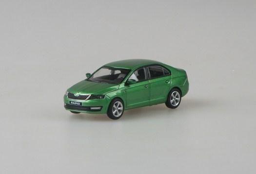 Škoda Rapid (2012) 1:43 - Zelená Rallye Metalíza