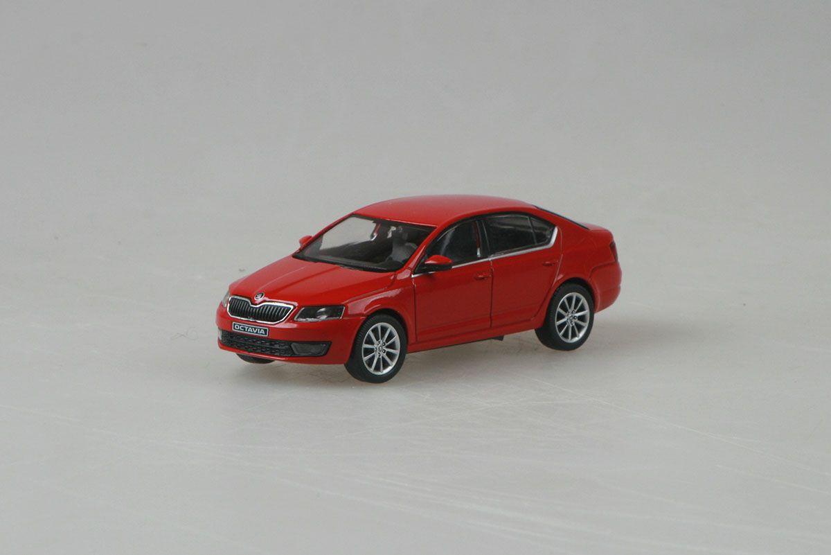 Škoda Octavia III (2012) 1:43 - Červená Corrida Uni