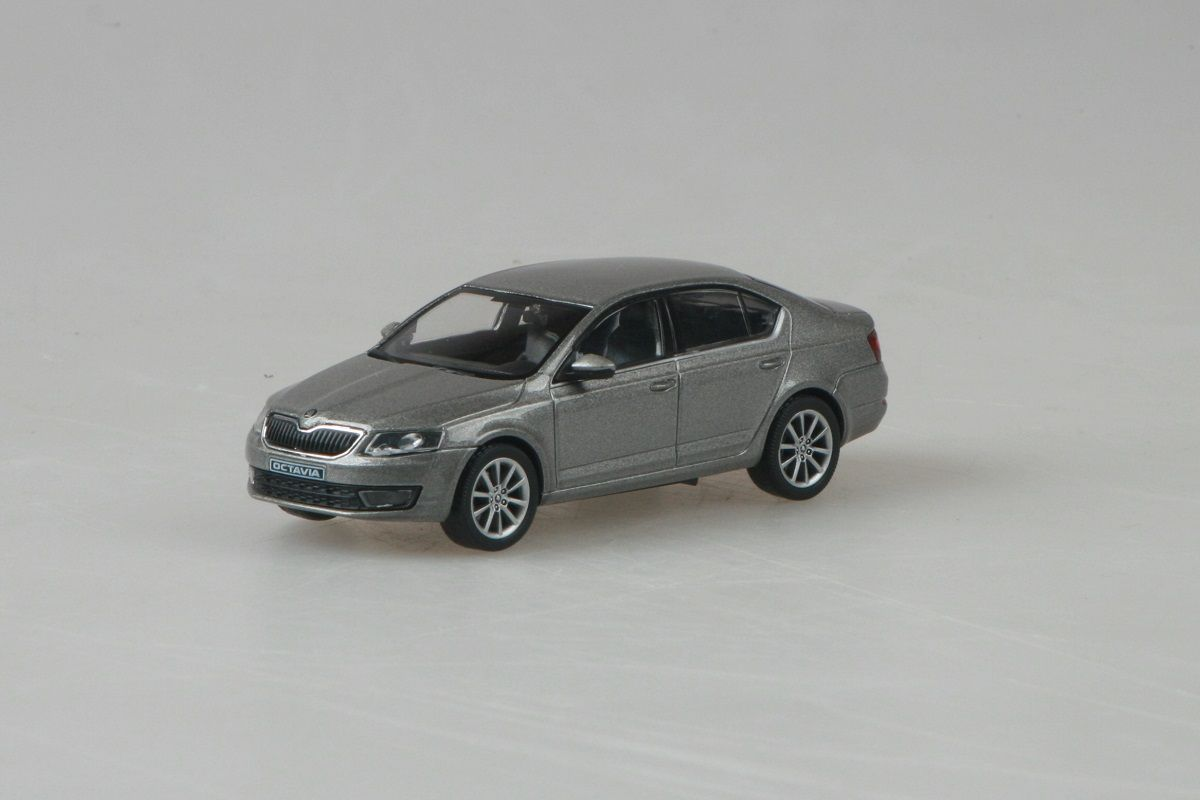 Škoda Octavia III (2012) 1:43 - Béžová Cappuccino Metalíza