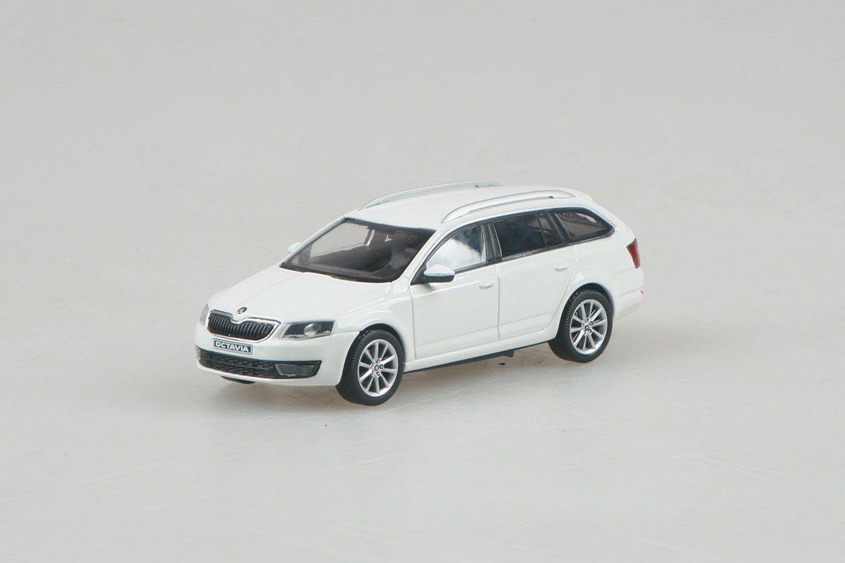 Škoda Octavia III Combi (2013) 1:43 - Bílá Candi Uni