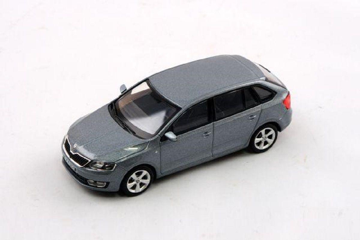 Škoda Rapid Spaceback (2013) 1:43 - Šedá Platin Metalíza
