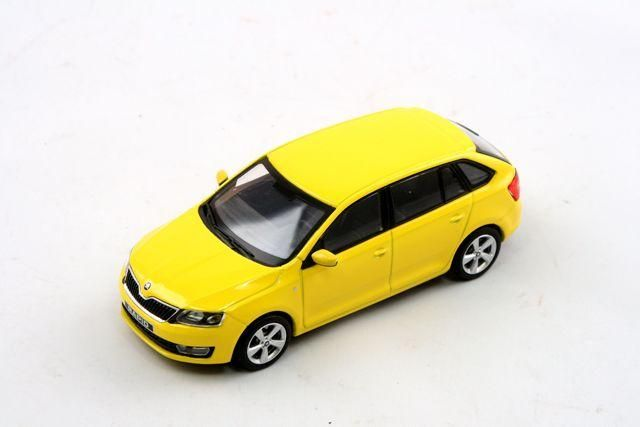 Škoda Rapid Spaceback (2013) 1:43 - Žlutá sprint