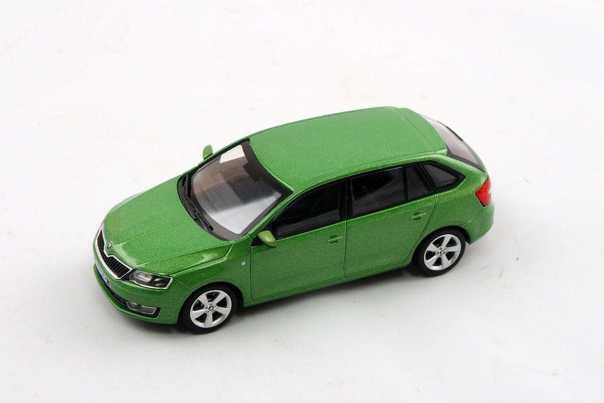 Škoda Rapid Spaceback (2013) 1:43 - Zelená Rallye Metalíza