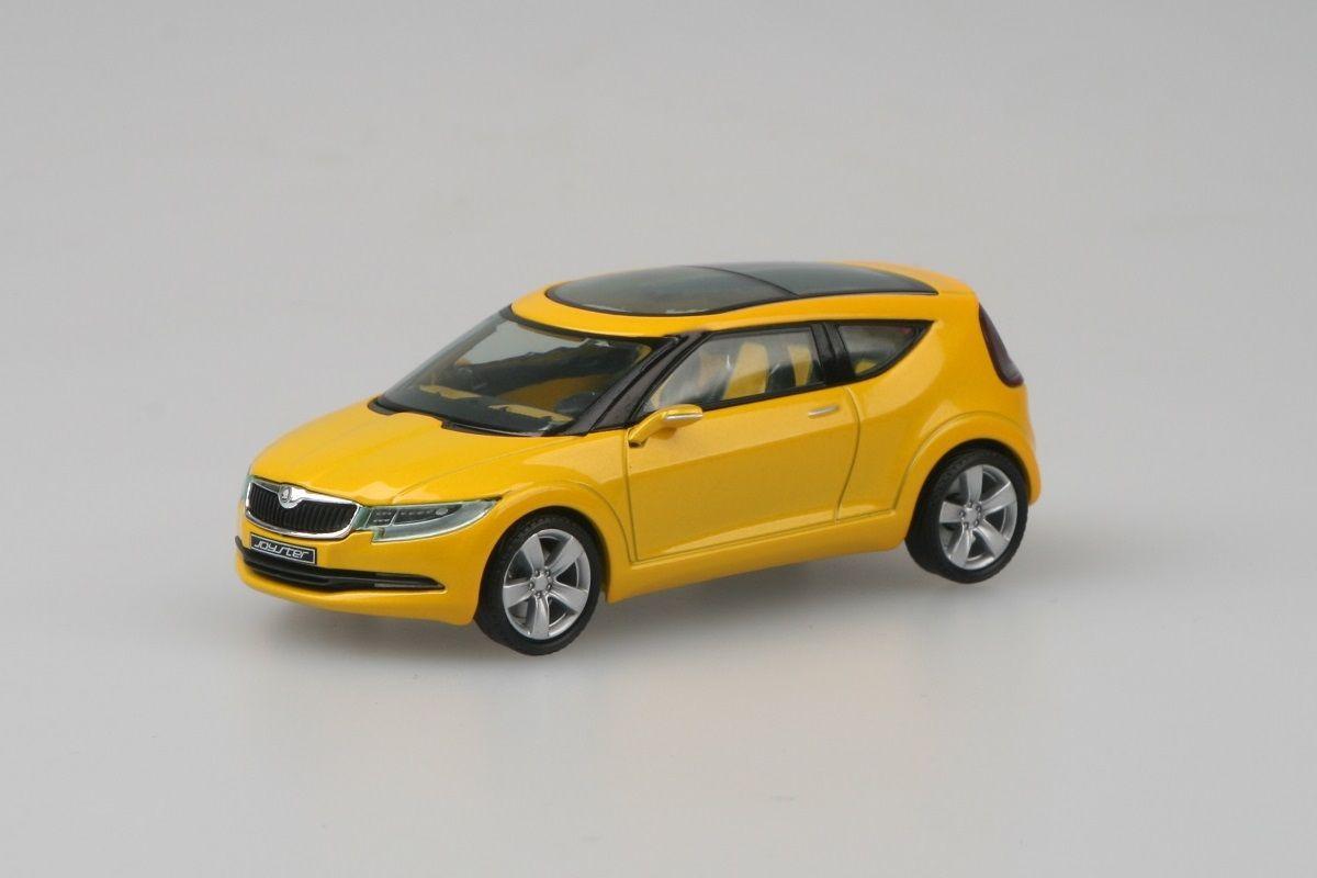 Škoda Joyster Concept (2006) 1:43 - Žlutá Metalíza