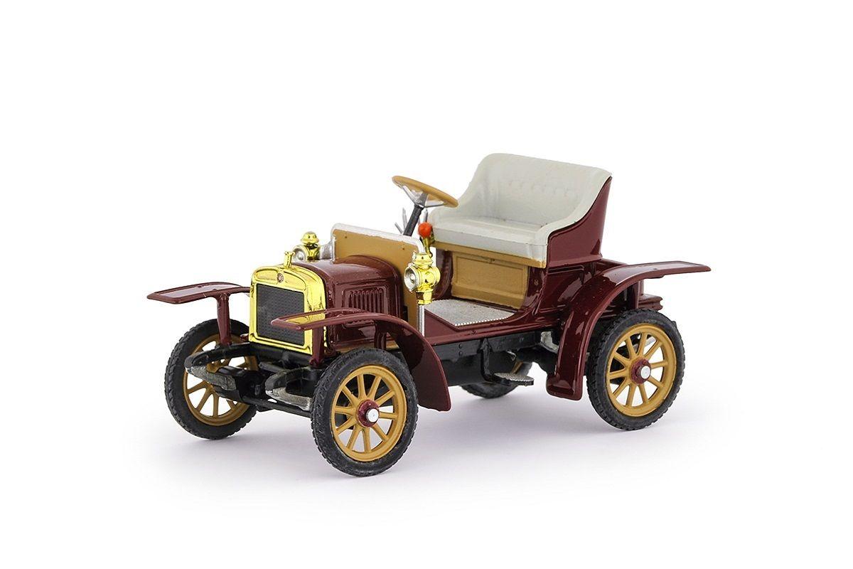 Laurin & Klement Voiturette (1905) 1:43 - Červená Tmavá