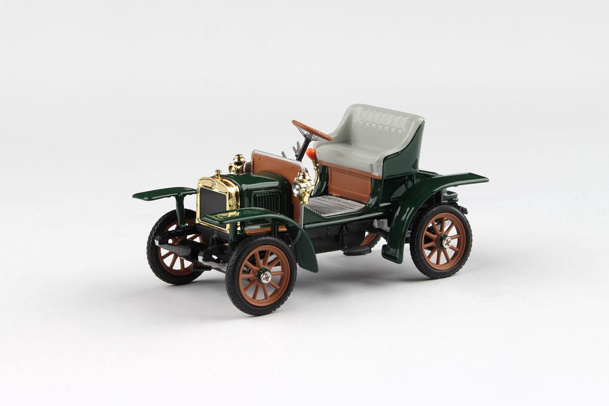 Laurin & Klement Voiturette (1905) 1:43 - Zelená Mechová