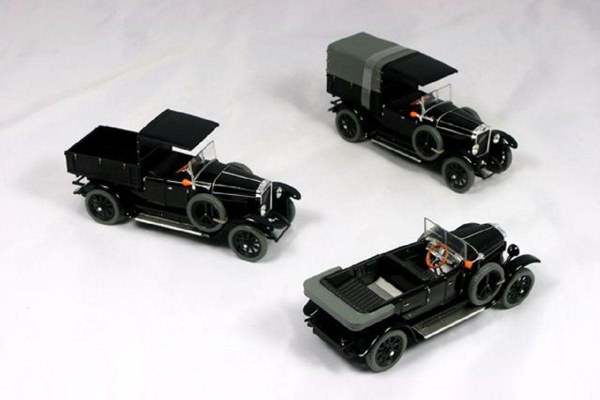 Laurin & Klement - Škoda 110 Combi Body (1927) 1:43 - Černá