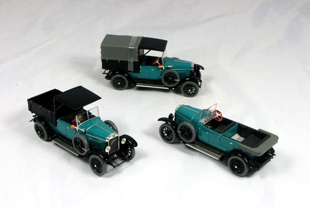 Laurin & Klement - Škoda 110 Combi Body (1927) 1:43 - Modrozelená