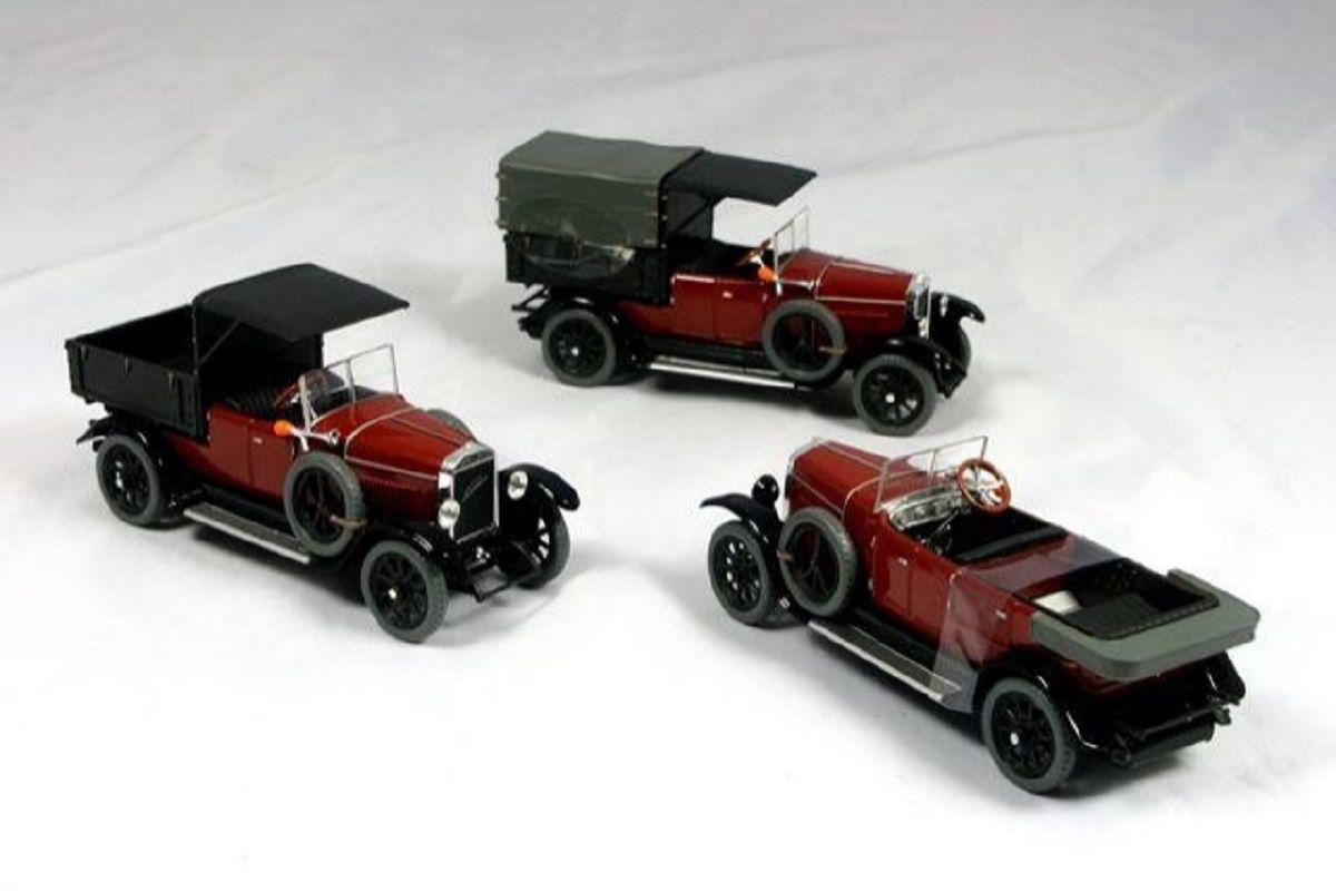 Laurin & Klement - Škoda 110 Combi Body (1927) 1:43 - Hnědá Tmavá