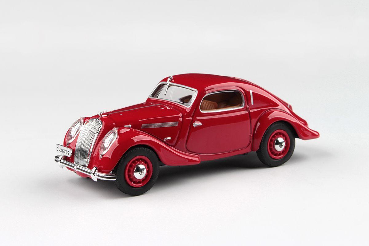 Škoda Popular Sport Monte Carlo (1937) 1:43 - Červená