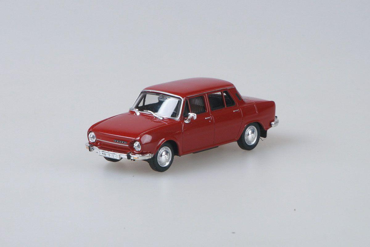 Škoda 110L (1973) 1:43 - Červená Rubínová