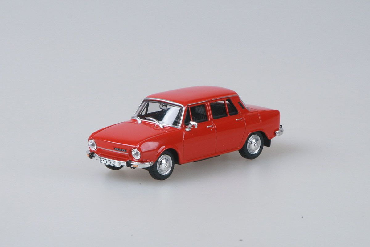 Škoda 110L (1973) 1:43 - Červená Paprika