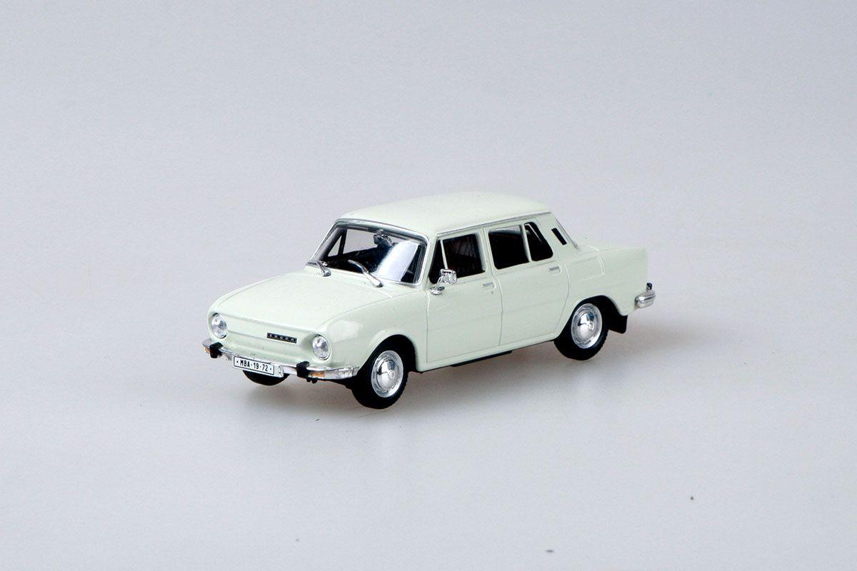 Škoda 110L (1973) 1:43 - Bílá Ledová