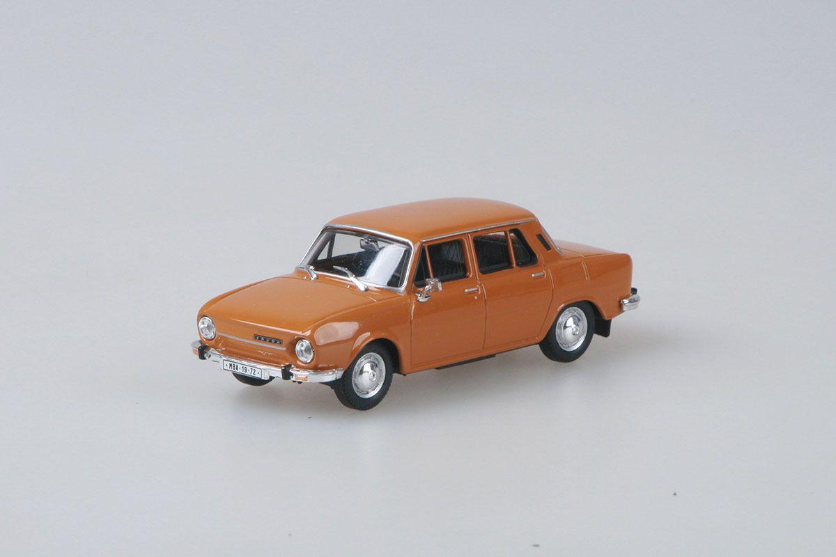 Škoda 110L (1973) 1:43 - Žlutá Bronzová
