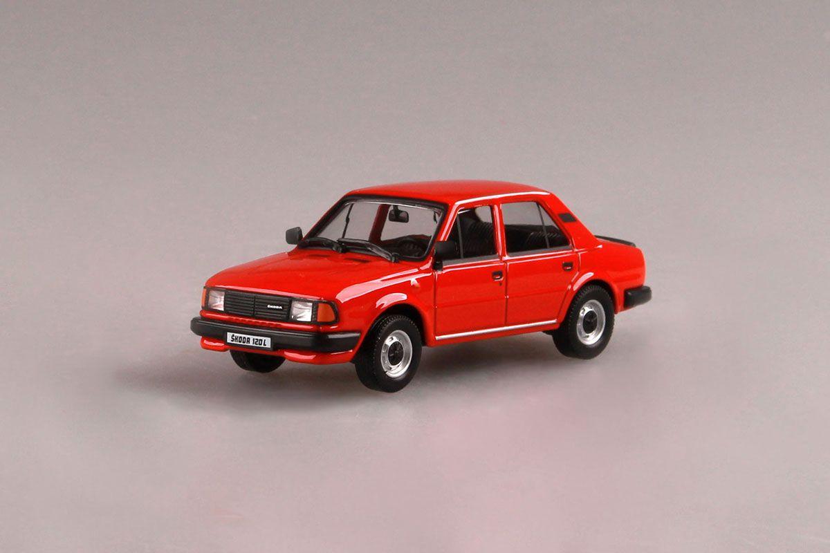 Škoda 120L (1984) 1:43 - Červená Šípková