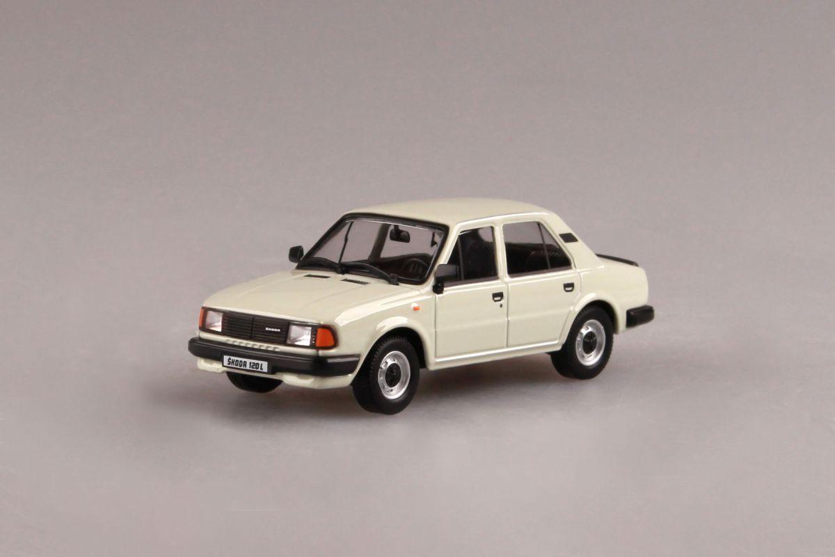 Škoda 120L (1984) 1:43 - Bílá Ledová