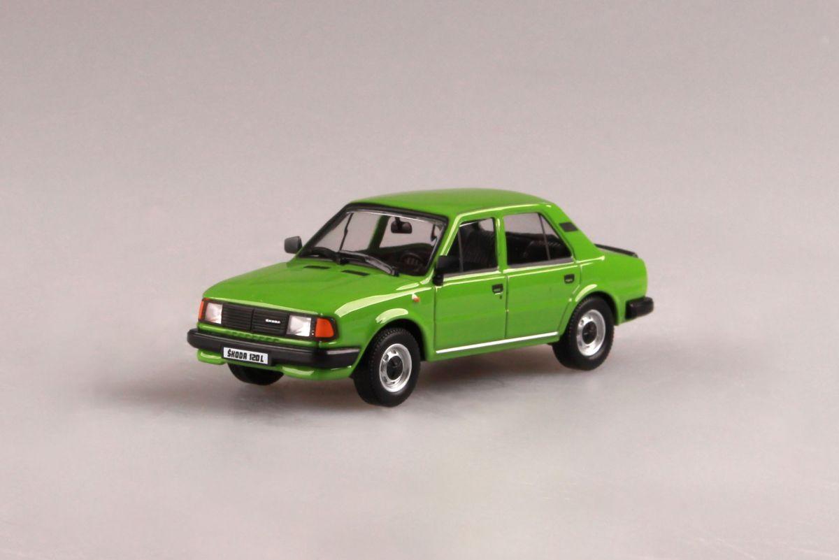 Škoda 120L (1984) 1:43 - Zelená Světlá