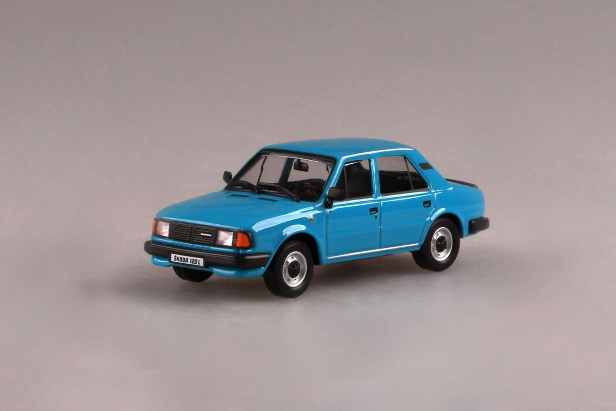 Škoda 120L (1984) 1:43 - Modrá Blankytná
