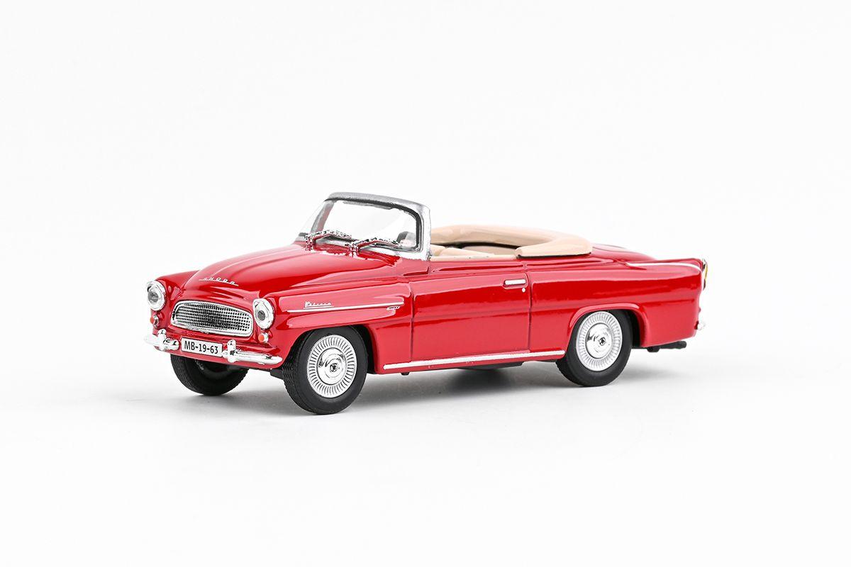 Škoda Felicia Roadster (1963) 1:43 - Červená Tmavá