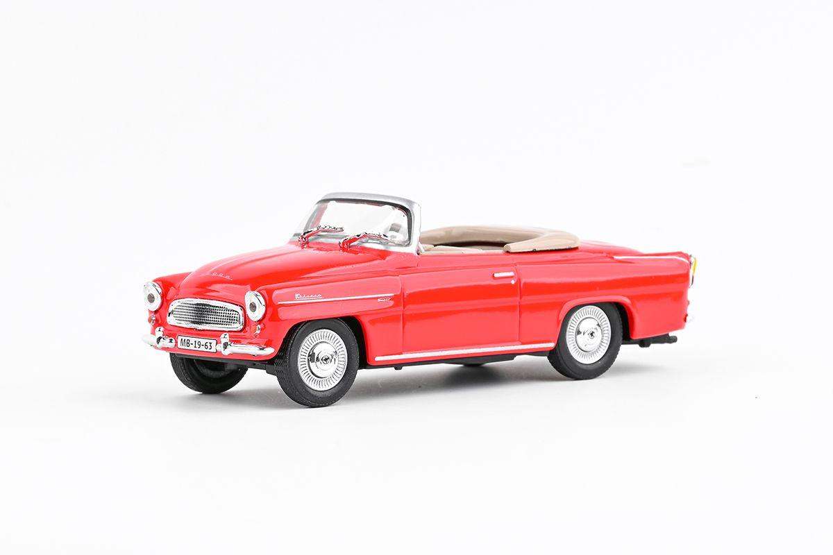 Škoda Felicia Roadster (1963) 1:43 - Červená Světlá