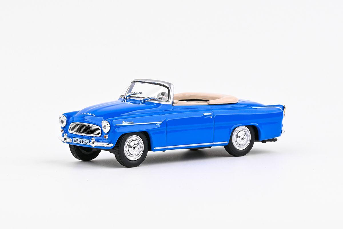 Škoda Felicia Roadster (1963) 1:43 - Modrá