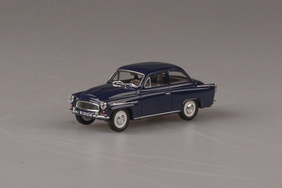 Škoda Octavia (1963) 1:43 - Modrá Tmavá