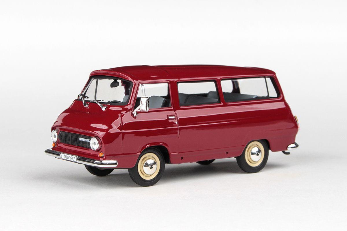 Škoda 1203 (1974) 1:43 - Červená Rubínová
