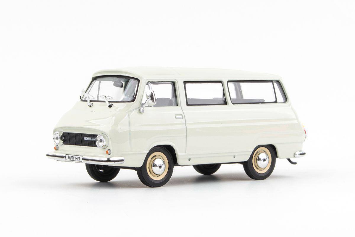 Škoda 1203 (1974) 1:43 - Bílá Ledová